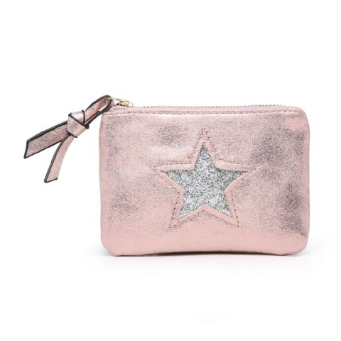 STAR COIN PURSE PINK